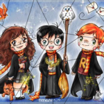 puzzle harry hermione ron